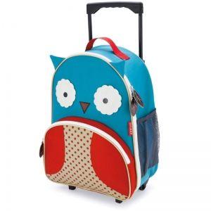Skip Hop Детска чанта на колела Zoo Luggage - Бухалче