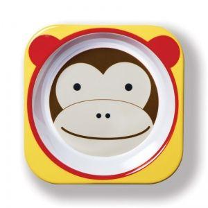 Skip Hop Детска купичка Zoo - Маймунка